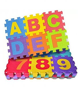 Learning Tiles Kids Puzzle Mats