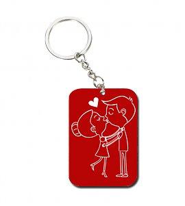 Love line keychain