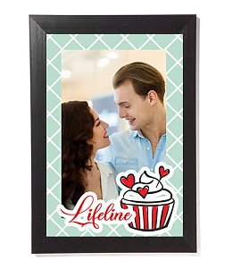 Love Personalized A3 Photo frame