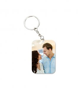 Lovely Couple Peronalized Keychain