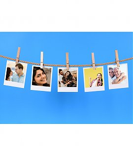 Romantic time spend multi handing clip  photoframe
