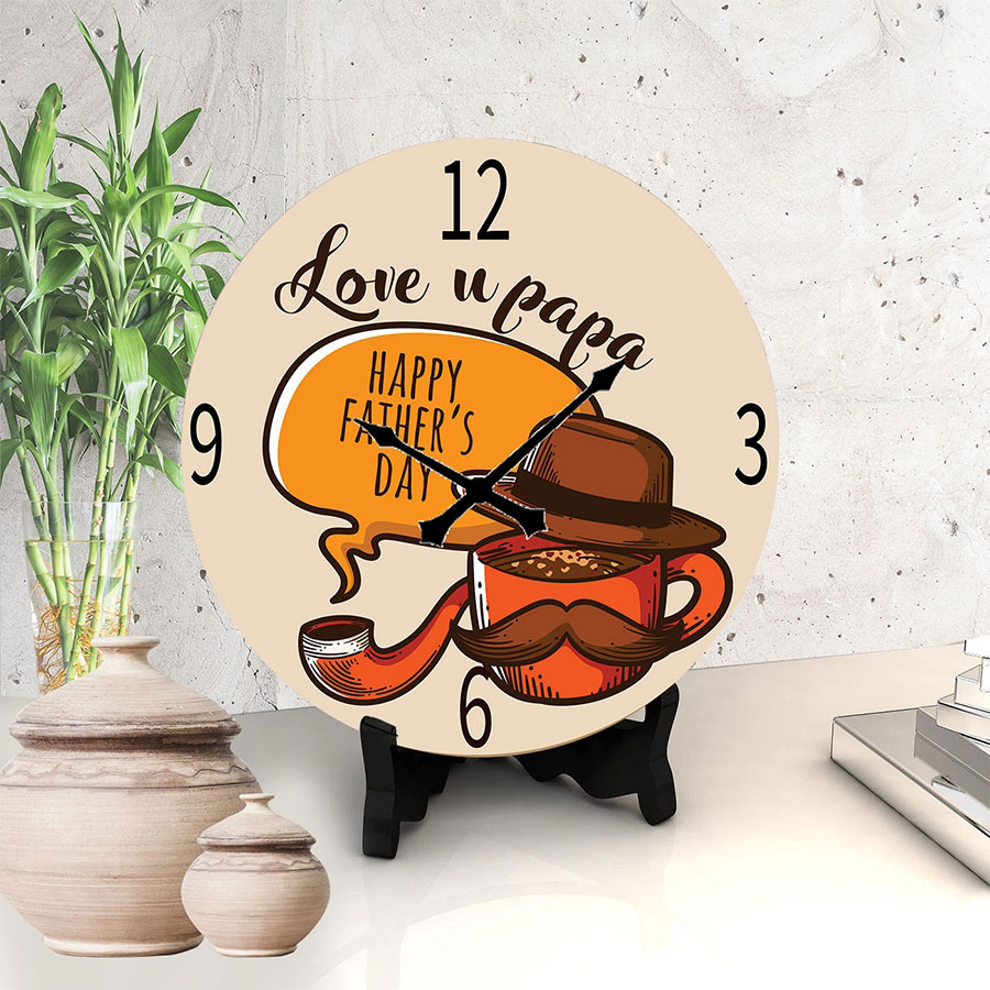 Delightful Father's day Clock