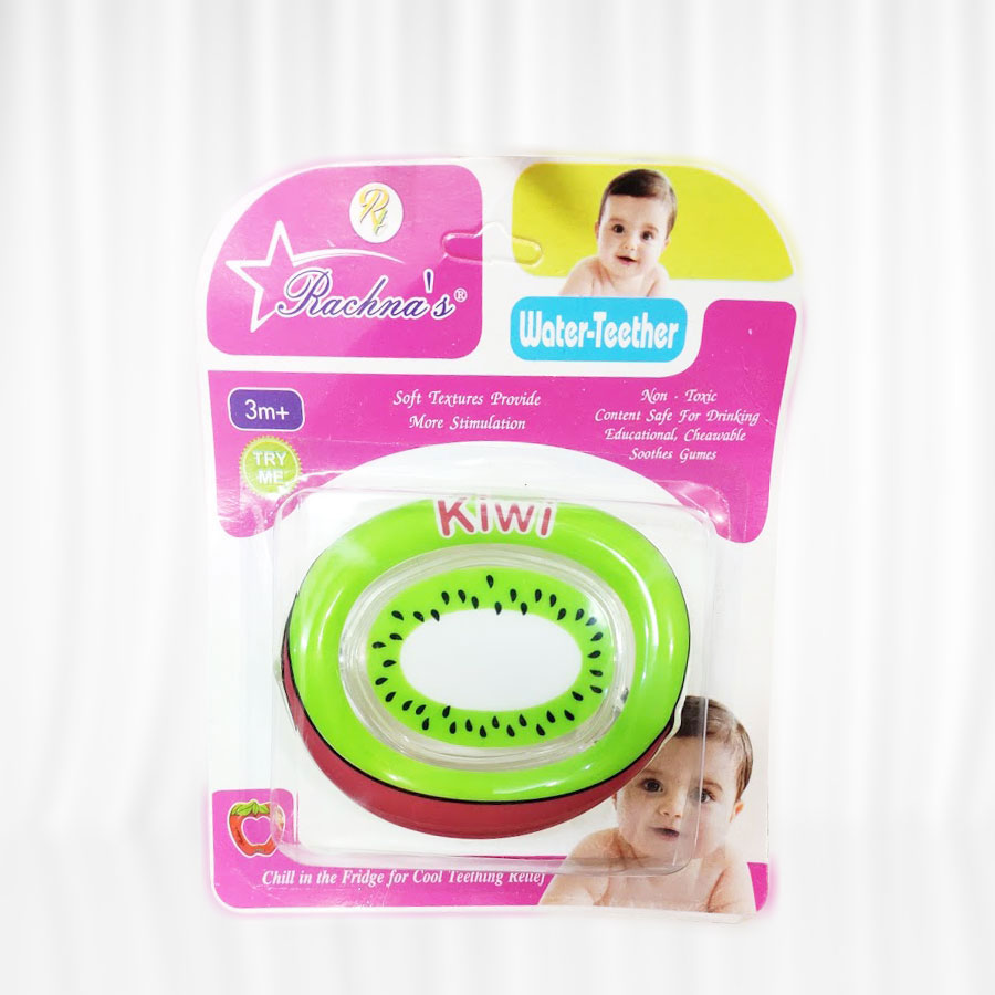 Rachna Cool Water Teether- Pink and green