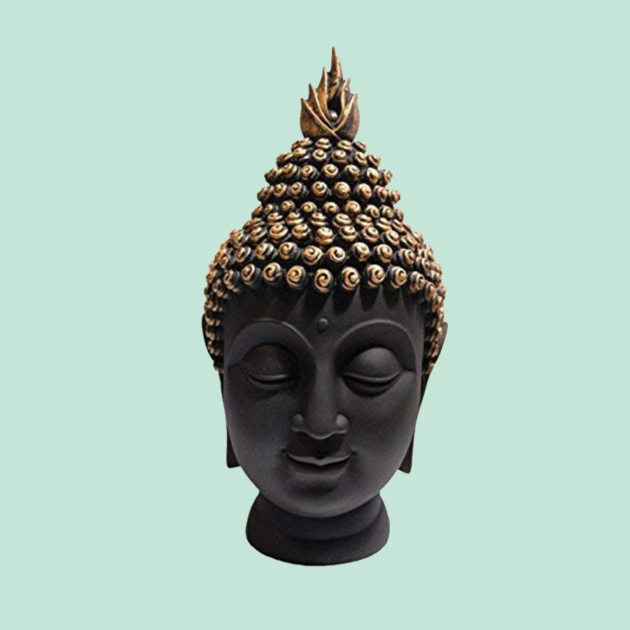 Lord Gautam Buddha Head Face Statue For Vastu Fangshui
