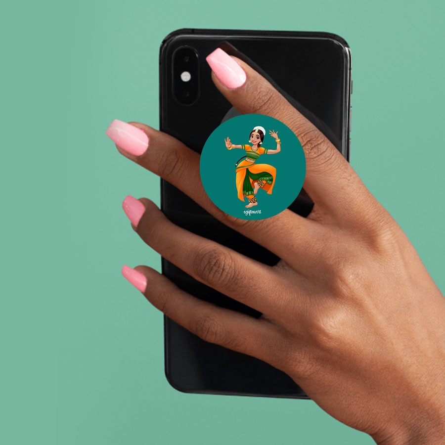 Dancing girl Phone Pop Socket - Any Phone Holder