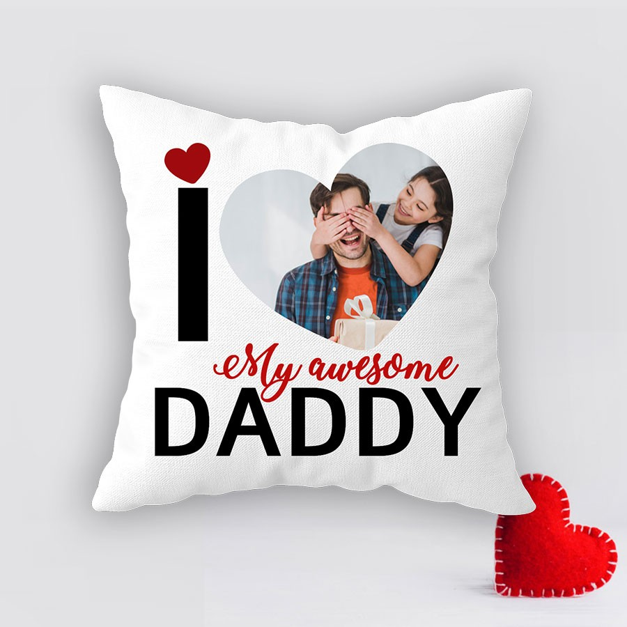 Personalized Cushion for Father