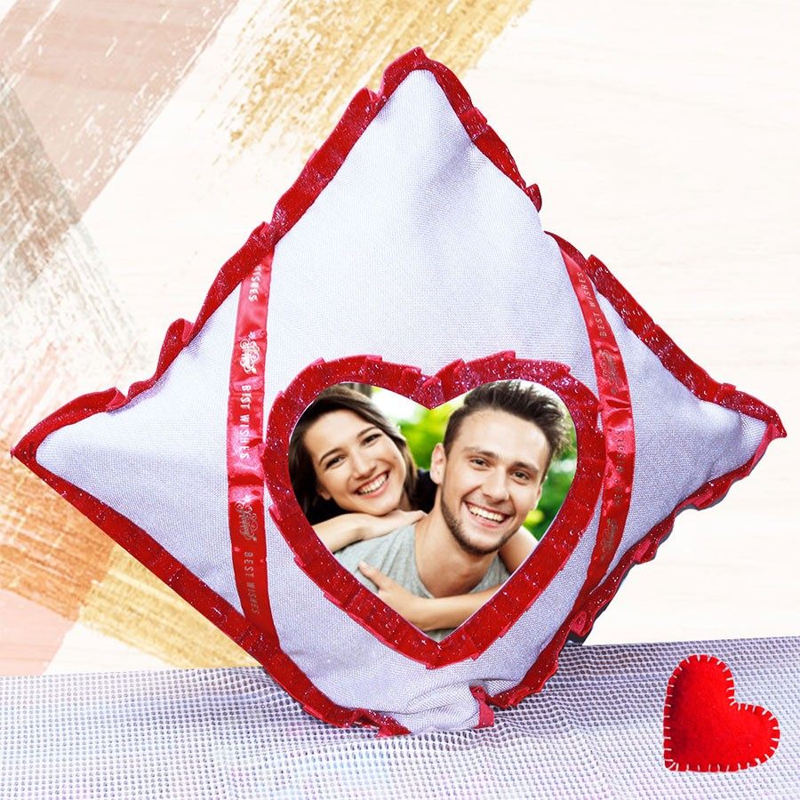Best Wishes Personalised Cushion