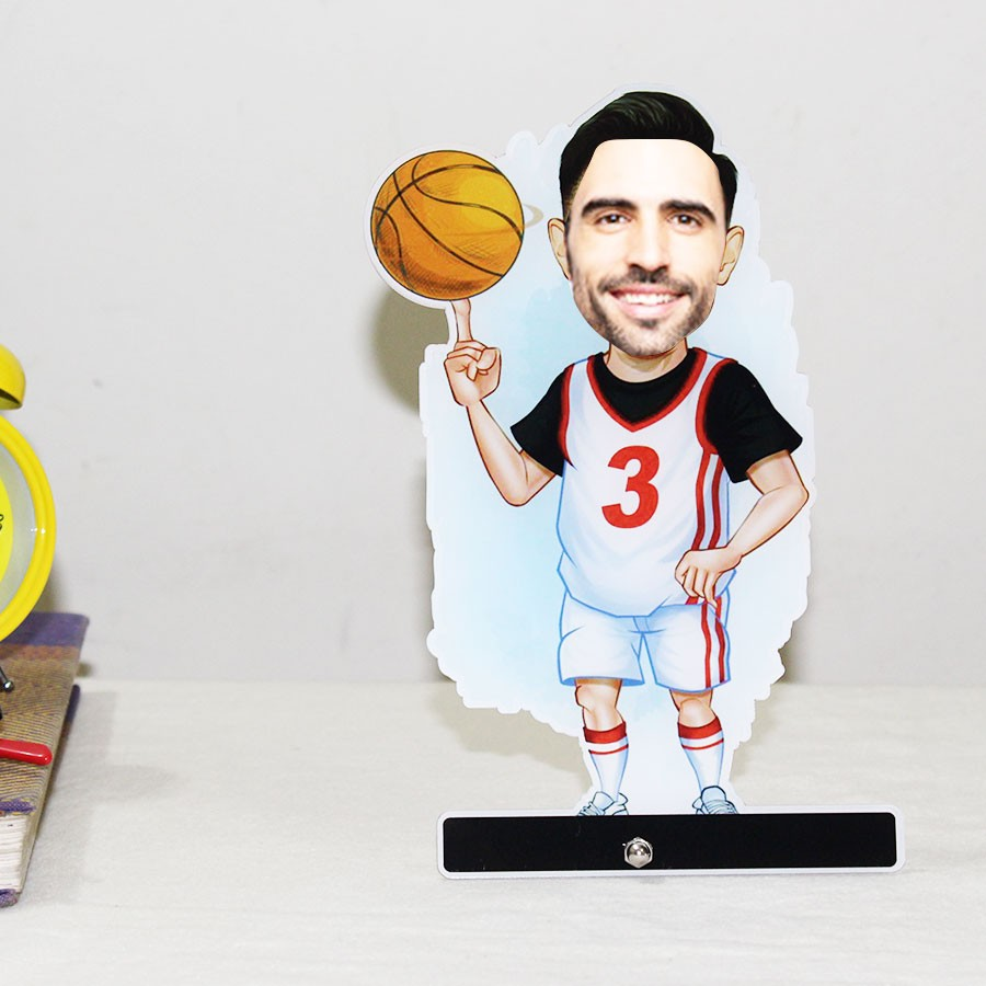 Personalized Basketball Acrylic Caricature
