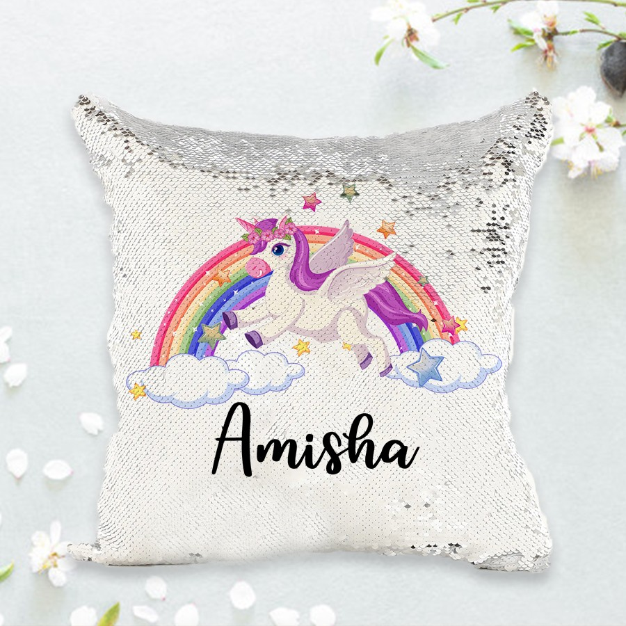 Personalized Unicorn Magic Cushion