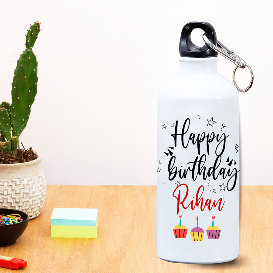 Birthday wishes personalized  Bottle