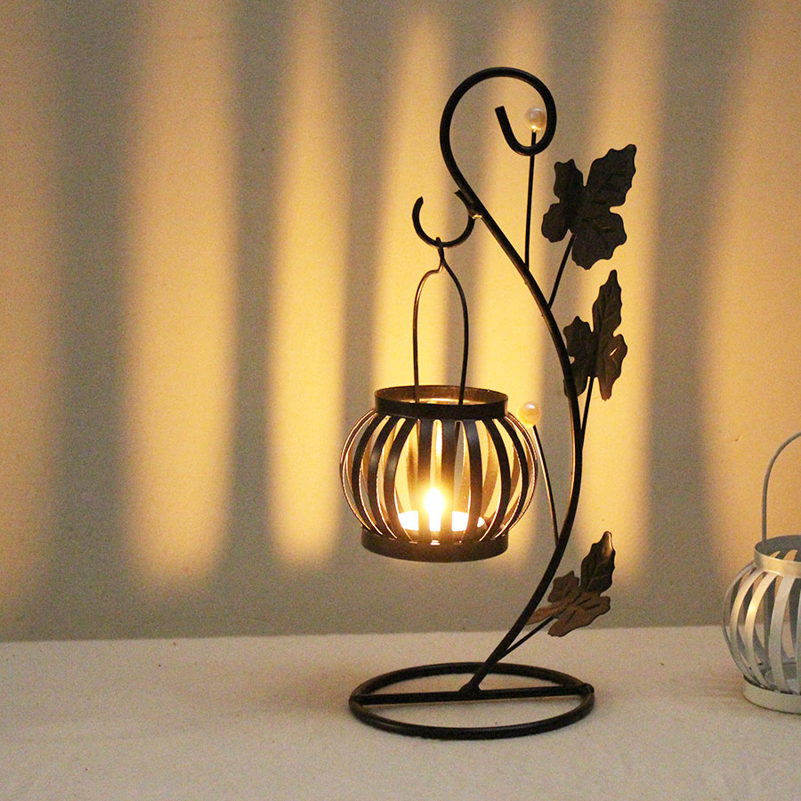 Black Color Tealight Candle Holder  with 5 Candle