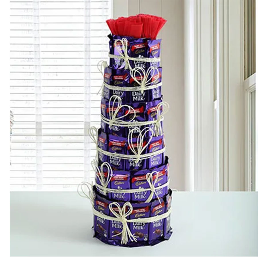 Dairy Milk Chocolate  Tower