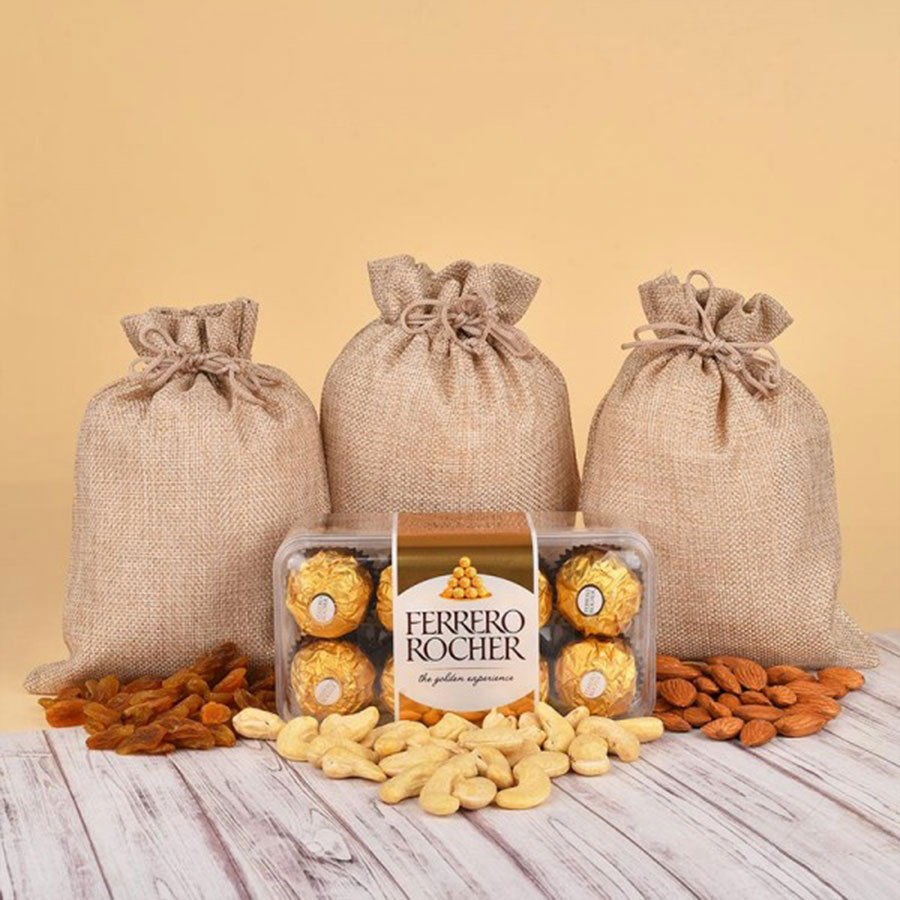 Dry Fruits with Rocher  Combo