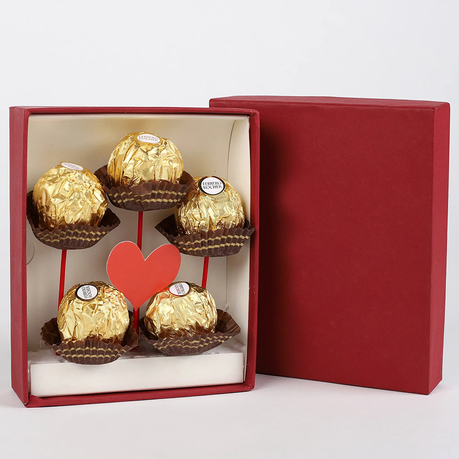 Ferrero Rocher 6 Pieces Chocolates Box