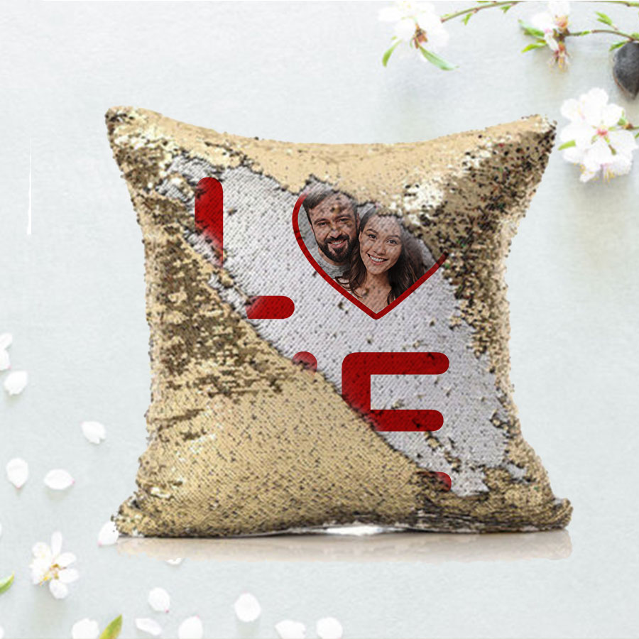 Personalized Love Magic Cushion