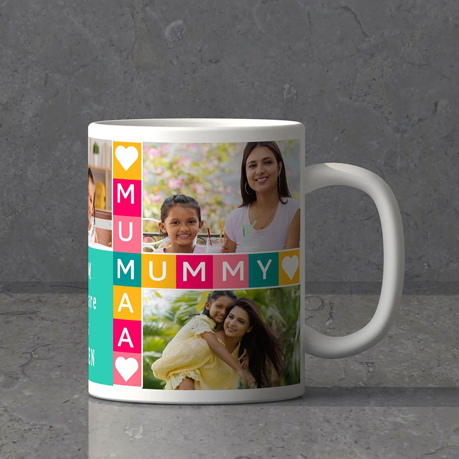 Loving Mom Personalized Mug