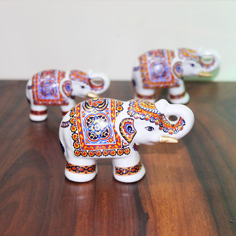 Rajasthani Elephant Set of 3