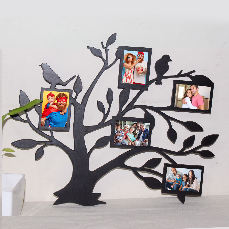 Personalised Family Tree Photo Frame